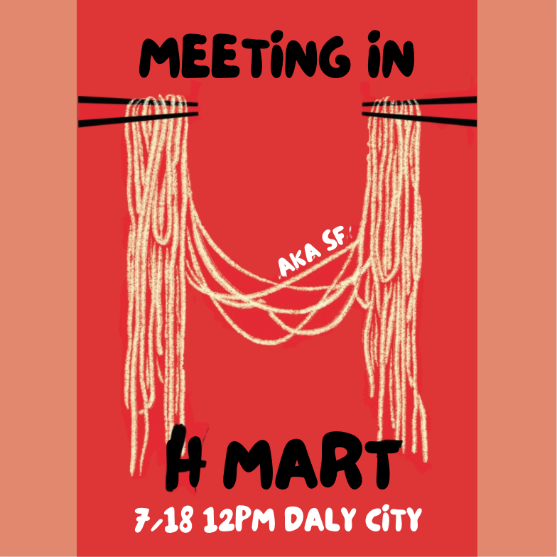 Meeting in H mart